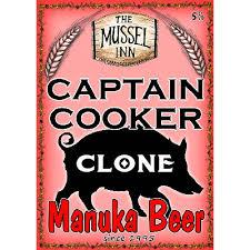 mussel inn capn cooker manuka beer