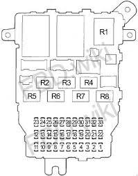 05 10 honda odyssey fuse diagram