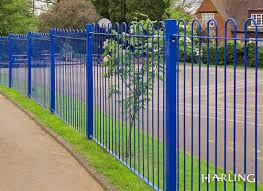 School Security Fencing Decorative Practical Security Fencing