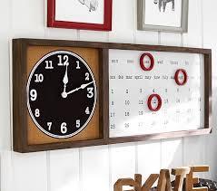 Jackson Clock Calendar Wall Organizer Pottery Barn Kids