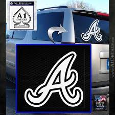 Atlanta Braves Decal Sticker A A1 Decals