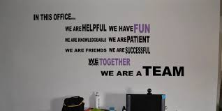 In This Office Wall Decal Trading Phrases