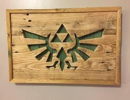 Triforce Wall Art Reclaimed Wood Reclaimed Wood Triforce