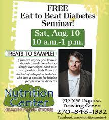 free eat to beat diabetes seminar