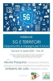 5G e territori, andare oltre alla fake news: Webinar oggi ...