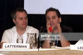 Harvey Leeds of Epic Records and Gregg Latterman of Aware Records at...  News Photo - Getty Images