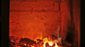inside a traditional masonry heater