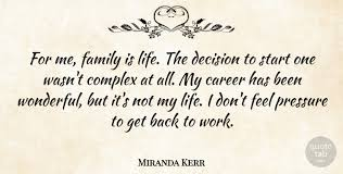 m da kerr for me family is life the decision to start one