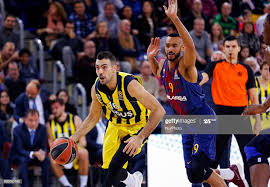 Kostas Sloukas and Adam Hanga during the match between FC Barcelona v...  News Photo - Getty Images