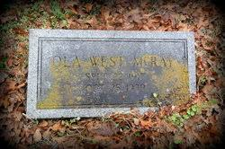 Ola West McRay (1917-1939) - Find A Grave Memorial