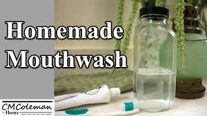 make your own mouthwash you