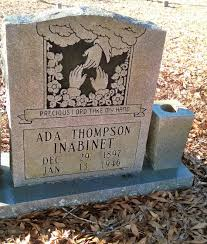 Ada Thompson Inabinet (1897-1946) - Find A Grave Memorial
