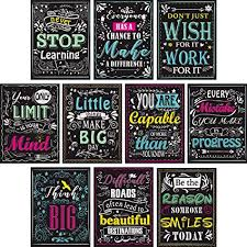 blulu pieces motivational classroom wall posters inspirational