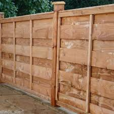 Wooden Fence Panels Horizontal Hit Miss Fencing Panel 6ft 5ft 4ft 3ft Wooden Fence Panels Wooden Fence Fence