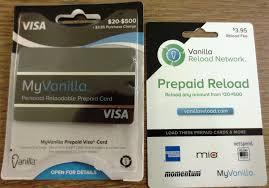 my vanilla debit card