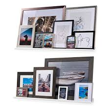 Wallniture Boston Contemporary Floating Wall Shelf Picture Ledge For Frames Book Display Wh In 2020 Floating Wall Shelves Floating Wall Wall Mounted Corner Shelves