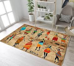 Lb African Women And Elephants Rugs And Carpets For Kids Baby Home Living Room Large Bedroom Toilet Kitchen Door Floor Bath Mats Carpet Aliexpress