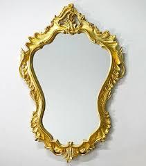 oval baroque wall gold antique rococo
