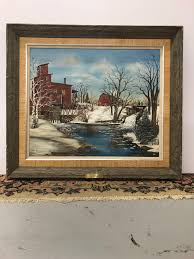 Original oil painting by Ada Johnson entiled ... | WHITEFORD High ...