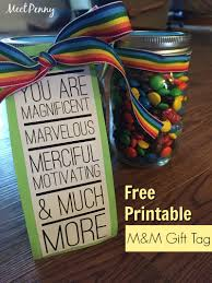 m m teacher gift printable meet penny