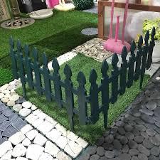 2 Pcs Green Small Plastic Garden Fence Edge Decoration Set Buy Plastic Small Garden Fence Set Garden Decoration Fence Trellis 2pcs Green Garden Fence Set Product On Alibaba Com