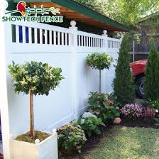 China Cheap Pvc Top Closed Picket Privacy Fence Garden Fence Panels China Pvc Fence Pool Fence