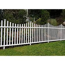 Amazon Com Vinyl Fence Gate