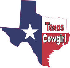 5 X 5 Texas Cowgirl Texas Flag Car Decal Bumper Sticker Truck Window Vinyl Stickertalk