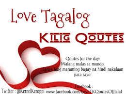 love tagalog kilig quotes home facebook
