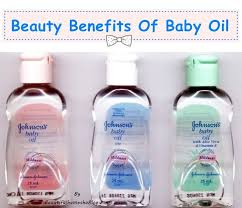 beauty benefits of baby oil