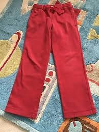 pany kids boys dark red fleece pants