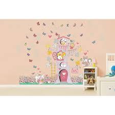 Zoomie Kids Lathan Happy Tree House Wall Decal Wayfair