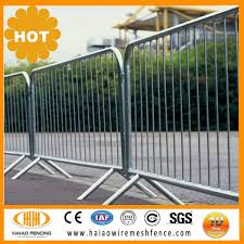 Steel Barricade Fence Malaysia Rental Crowd Control Metal Barricade View Barricade Fence Haiao Product Details From Hebei Haiao Wire Mesh Products Co Ltd On Alibaba Com