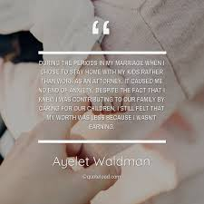 during the periods in my marriage ayelet waldman about family