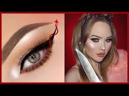 scream queens red devil eyeliner