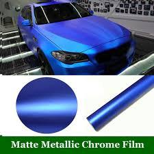 Dark Blue Matte Car Wrap Film Self Adhesive Air Bubble Free Car Decal 152cm X 50cm 60 X20 Wish