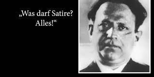 """Was darf Satire? Alles!"""" Kurt Tucholskys Zitat in aller Munde"""