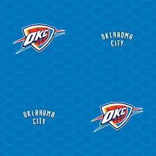 oklahoma city thunder logo pattern