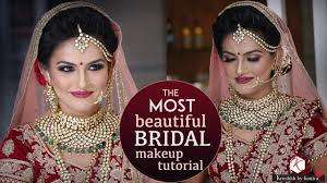 bridal wedding makeup tutorials for