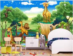 Custom Photo Wallpapers 3d Murals Wallpaper 3d Animal Paradise Forest Cartoon Childrens Room Kids Room Mural Wall Papers Free 3d Desktop Wallpaper Free 3d Wallpaper From Zhu77 8 92 Dhgate Com