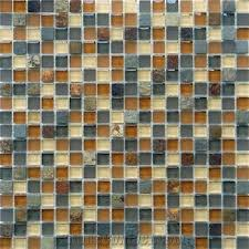 backsplash stone mix glass mosaic from