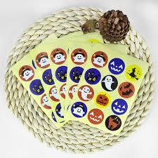 10 Chiếc Halloween Dán Đồ Chơi Dành Cho Trẻ Em Bí Ngô Cho Tiệc Dơi Ma Tặng  Dán Kẹo Bánh Quy Túi Cupcake Hộp Nhãn|