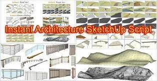 Review Of Instant Architecture For Sketchup By Vali Architects Sketchup Lovers