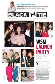 Black Tie — Arts + Entertainment 11.28.19 by The Observer Group Inc. - issuu