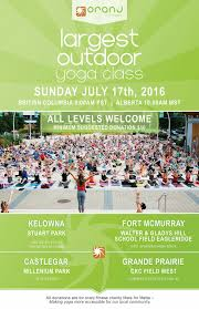 okanagan s largest outdoor yoga cl