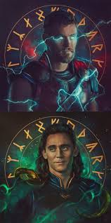 thor and loki wallpaper android