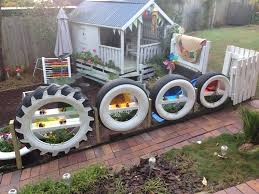 Easy Ideas For Reusing Tyres In Outdoor Play Areas And Backyards