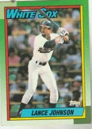 FREE SHIPPING-MINT-1990 Topps #587 Lance Johnson Chicago White Sox +BONUS  CARDS | eBay