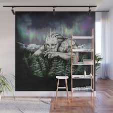 ymir the frost giant wall mural by ania