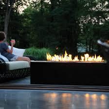 linear burner system outdoor spark